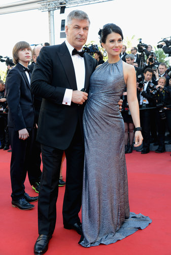 Hilaria Thomas and Alec Baldwin attended the Seduced and Abandoned premiere at the Cannes Film Festival on Monday.