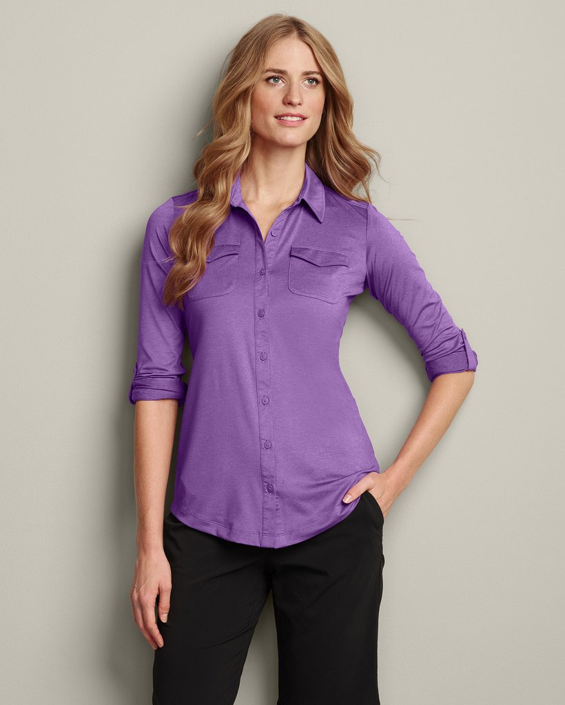 Eddie Bauer Travex Button-Down