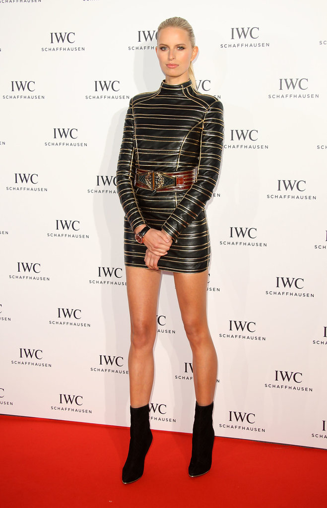 Karolína Kurková attended IWC Schaffhausen's For the Love of Cinema party.