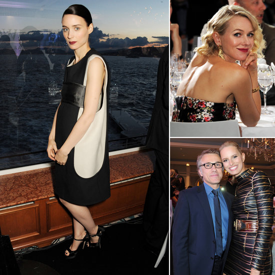 Naomi and Karolína Talk French Glamour at a Lux Bash With Rooney Mara