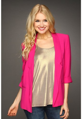 French Connection - Connie Color Blazer (Ibiza Pink) - Apparel