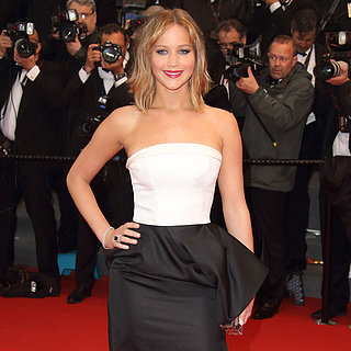 Cannes Black-and-White Red Carpet Dresses