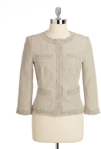MICHAEL MICHAEL KORS Hidden Snap Cropped Jacket