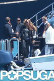 Beyoncé and Jay-Z Hop On a Yacht in the South of France
