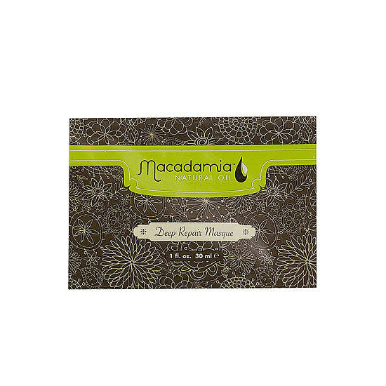 Keep your hair in prime condition, even when you're traveling, with Macadamia Natural Oil Travel-Size Deep Repair Masque ($4).