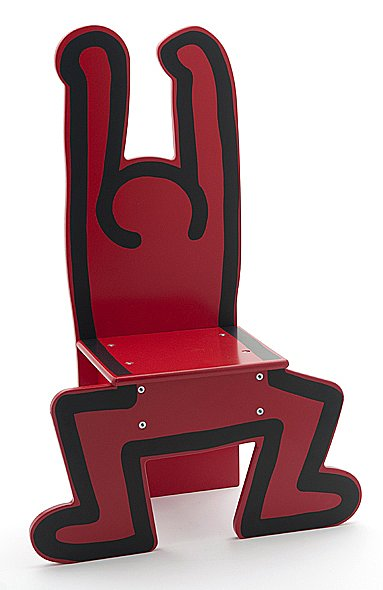 Museum of Contemporary Art Chicago: Keith Haring Chair
