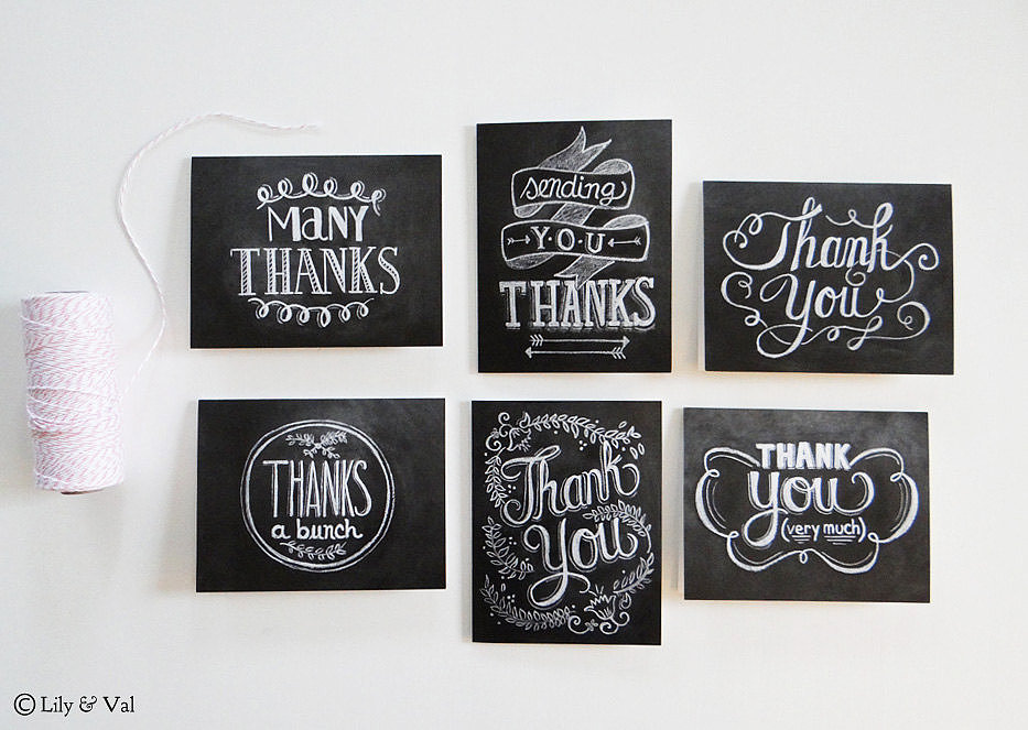 Thank-You Cards
