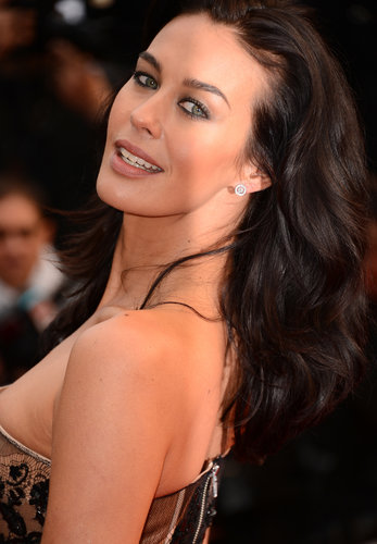 Megan Gale&#039;s Beauty Look at 2013 Cannes Film Festival