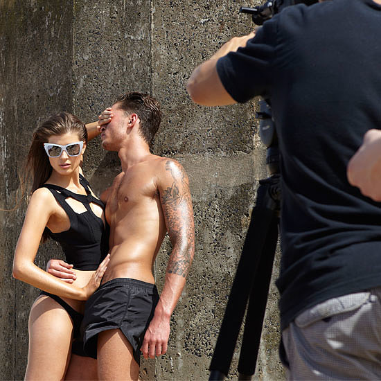 1st Look: Le Specs Sexy, Summer Campaign Shoot