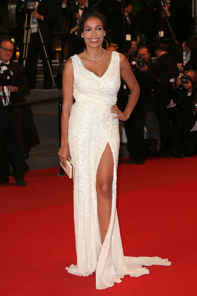 Rosario Dawson attended James's Cannes premiere.