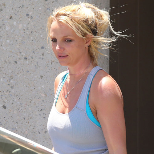 Britney Spears in Gym Clothes | Photos
