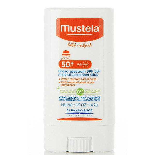 Baby Store Find: Mustela Broad Spectrum Mineral Sun Stick