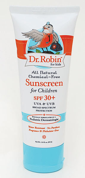 Baby Store Find: Dr. Robin For Kids All Natural Chemical-Free Sunscreen, SPF 30+