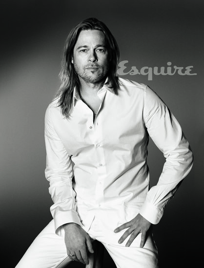 "Brad Pitt: ""I Haven't Known Life to Be Any Happier"""