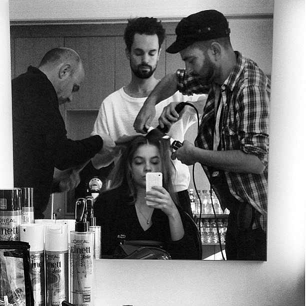 Barbara Palvin got glammed up. Source: Instagram user barbarapalvin_