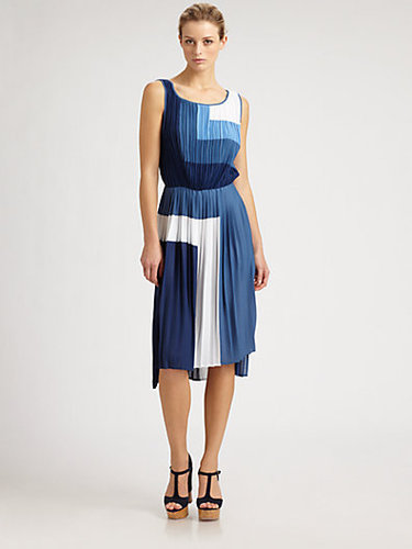 BCBGMAXAZRIA Rosa Colorblock Dress