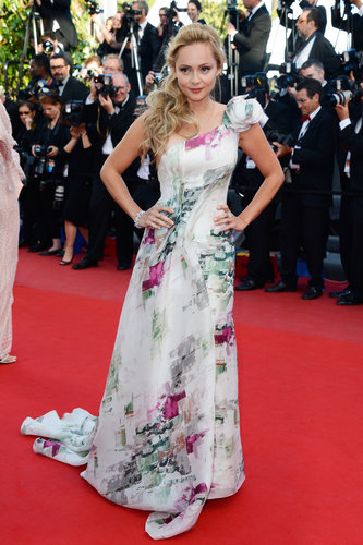 Beatrice Rosen was on hand for the Cleopatra premiere in Cannes on Tuesday.