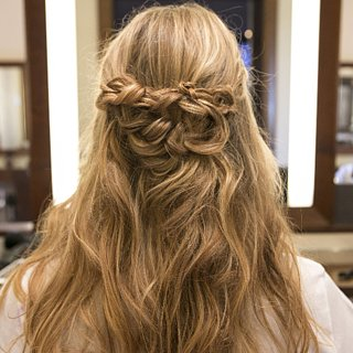 Braided Half-Up Tutorial