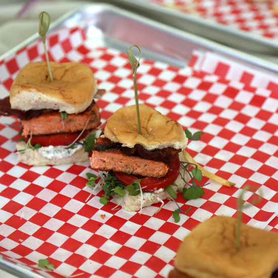 Smoky Sweet Salmon Sliders
