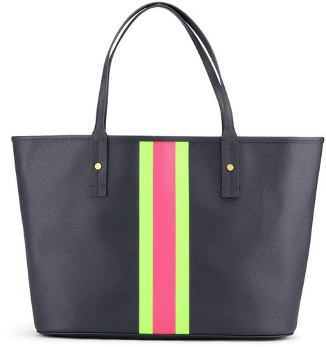 Printed Stripes Tote