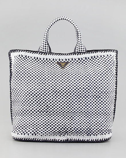 Prada's Madras Tote Bag ($2,595) offers a seriously luxe twist on a favorite Summer pattern.
