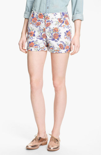 Caslon Clean Front Five-Inch Shorts