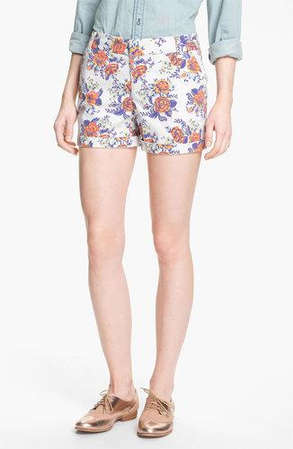 Caslon Clean Front Five-Inch Shorts
