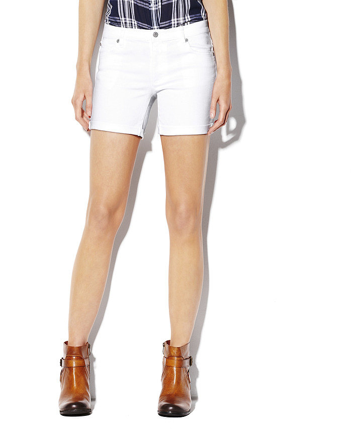 Everyone need a pair of crisp white shorts, and we love that you can roll these Vince Camuto w