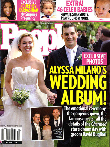 Alyssa Milano and David Bugliar: August, 2009