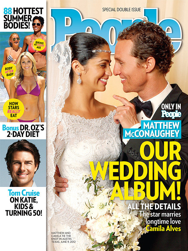 Camila Alves and Matthew McConaughey: June, 2012