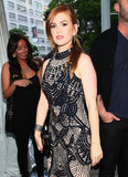 Isla Fisher premiered Now You See Me in NYC.
