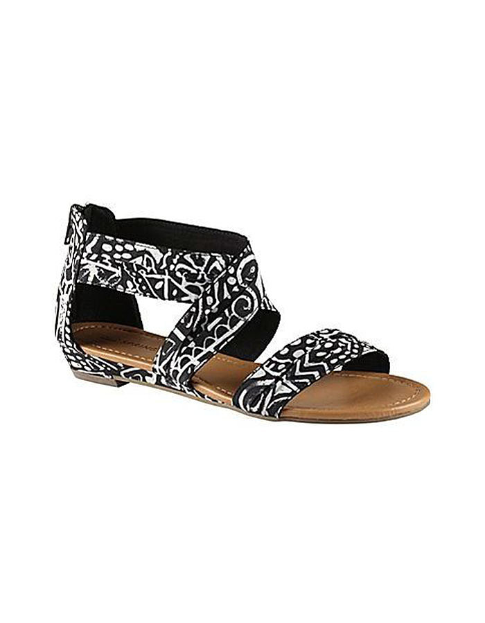 Make a bold print statement with Call It Spring's black and white style ($40).