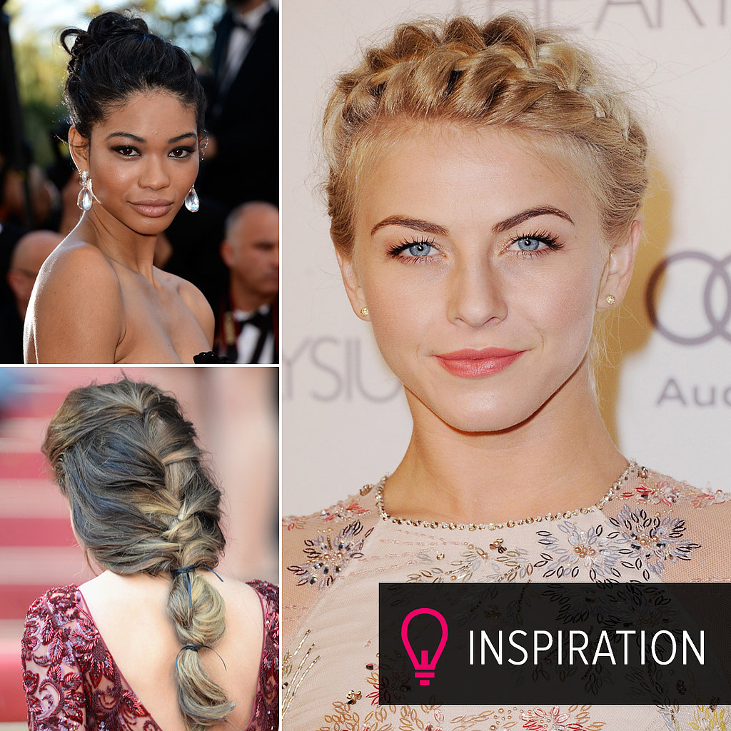 Red-Carpet Inspiration For Your Winter Bridal Updo
