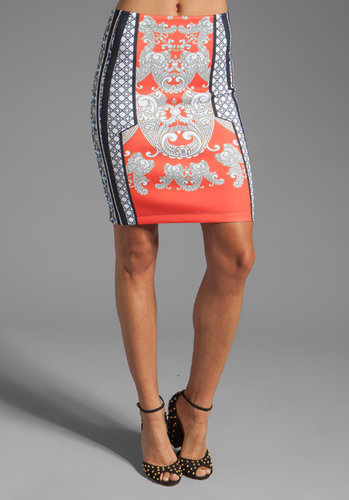 Clover Canyon Bollywood Neoprene Skirt