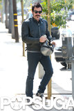 Ewan McGregor ran errands in West Hollywood.