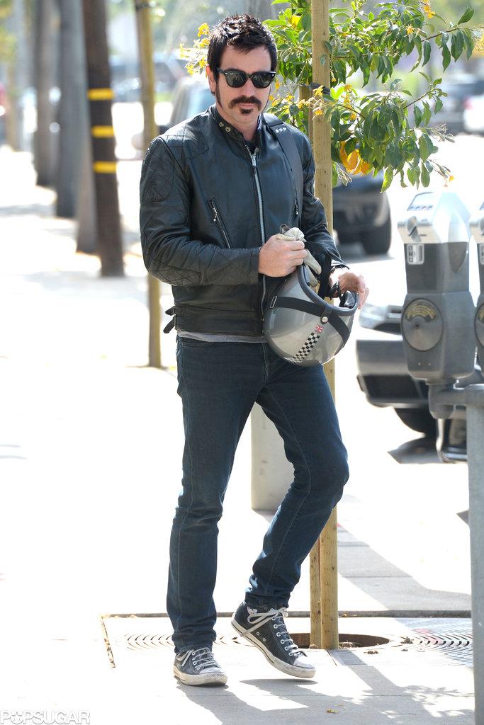 Ewan McGregor ran errands in West Hollywood.
