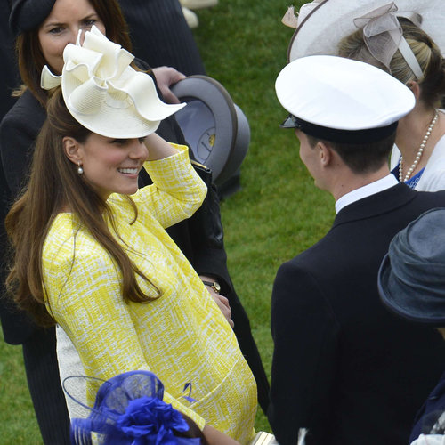 Kate Middleton Yellow Coat