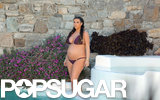 Kim Kardashian vacationed in Mykonos, Greece, with her family.