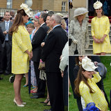 A Sunny Kate Middleton Enjoys a Palace Garden Party