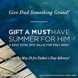 Order the POPSUGAR Must Have Special Edition Summer For Him Box - Just in Time For Father's Day!