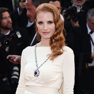 Jessica Chastain Wears Elizabeth Taylor's Jewelry at Cannes