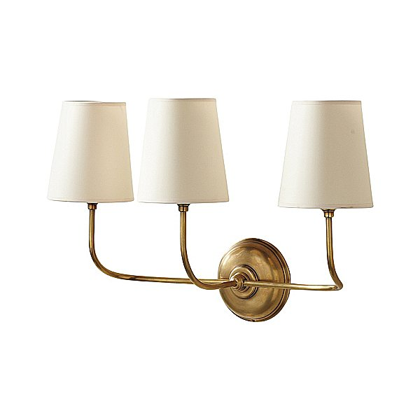 Elegant but unfussy, this Everett Sconce ($395) would be right at home in a beach house or a city loft.