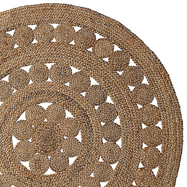 This Round Jute Rug ($125-$295) reminds us of an earthy doily.