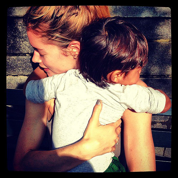 Doutzen Kroes got a sweet hug from her son Phyllon upon returning home from the Cannes Film Festival. Source: Instagram user doutzenkroes1