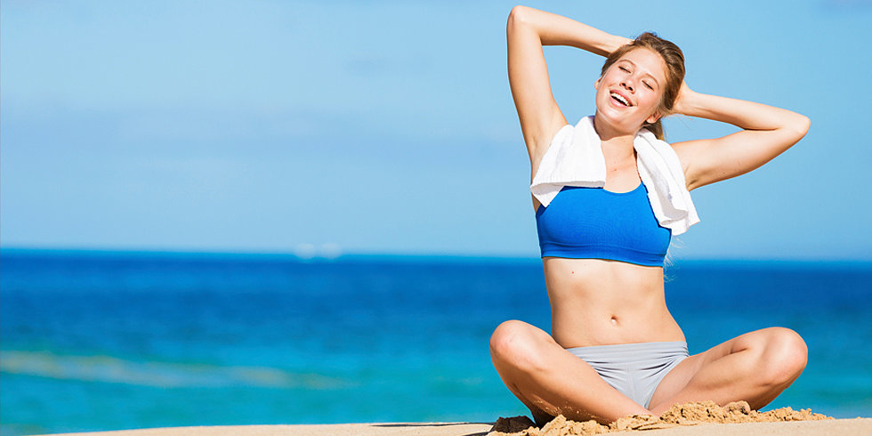 7 Beach Workouts For a Sunny Memorial Day Weekend