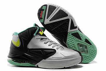 Nike Lebron JamesAmbassador V 5 Wolf Grey/Tourmaline/Black/University Red Mens 31535
