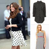 Spotted! Polka-Dot Maternity Pieces Inspired by Duchess Kate
