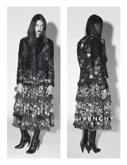 Dalianah Arekion photographed by Mert Alas and Marcus Piggott. Photo courtesy of Givenchy