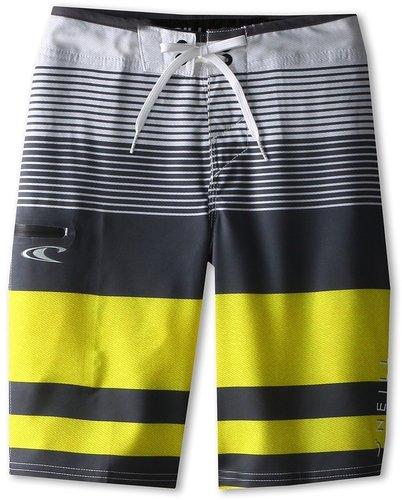 O'Neill Kids - Orion Boardshort (Big Kids) (Yellow) - Apparel