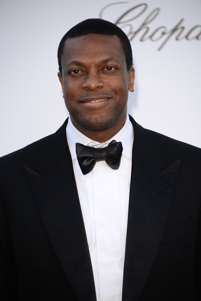 Chris Tucker at the amfAR gala in Cannes.